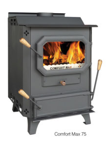 The Comfort Max 75 Manufacturer by DS Stoves, sold by Wilson Coal in Sussex County NJ